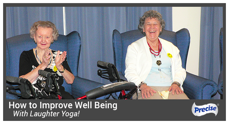 Laughter yoga in aged care program