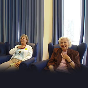 Laughter session at Aged Care Services Australia Group (P/L)