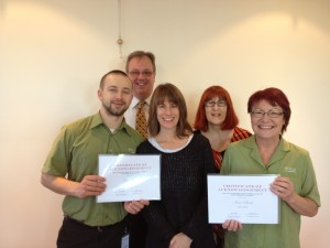 Completion of LaughLife Laughter leader training