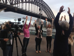Filming for Road to Happiness Doco-1