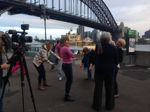 Filming for Road to Happiness Doco