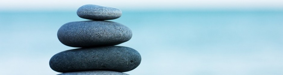 Mindfulness: stack of stones