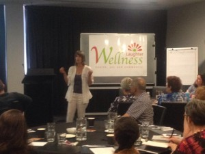 Presenting at 2015 Laughter Wellness Conference