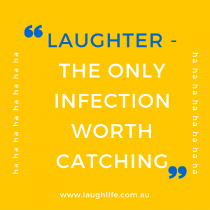 Laughter - the only infection worth catching