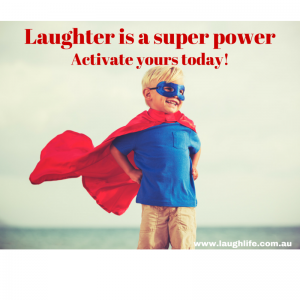 Laughter is a super power