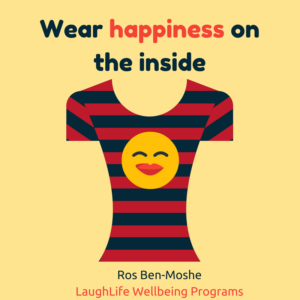 Do you wear your happiness on the inside or outside?